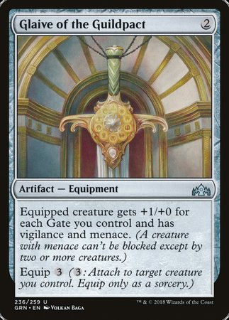 Glaive of the Guildpact [Guilds of Ravnica] | Gators Games and Hobby