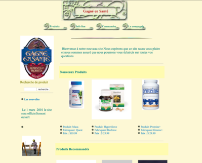 First win in health web site