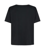 Load image into Gallery viewer, Black Leah S/S tee