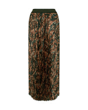Load image into Gallery viewer, Plisse Forest Skirt
