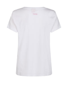 Chérie LOVE O-SS Bubble Pink Tee