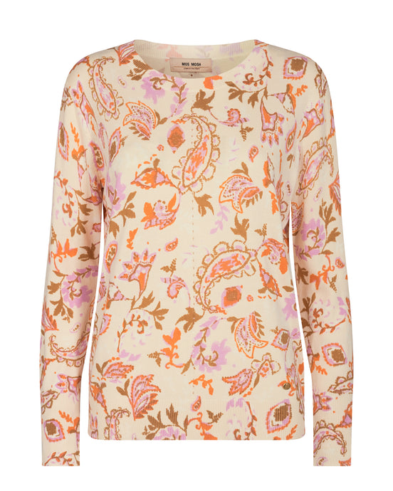Vinette Chintz O-neck Knit - PRE-ORDER arriving 22nd Feb