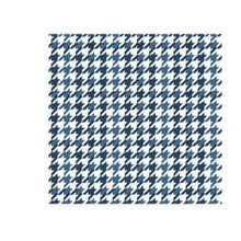 Load image into Gallery viewer, Unisex -  Blue Dogstooth Face Covering