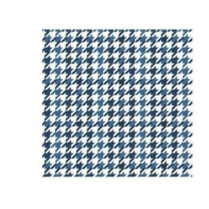 Unisex -  Blue Dogstooth Face Covering