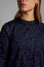Load image into Gallery viewer, Navy Swallow Cotton Shirt