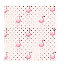 Load image into Gallery viewer, Flamingo pale pink with Black Hearts