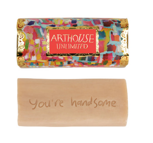 'You're handsome' Genie Organic Tubular Soap