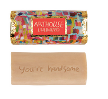 Load image into Gallery viewer, 'You're handsome' Genie Organic Tubular Soap