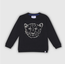 Load image into Gallery viewer, Cheetah Black Sweatshirt