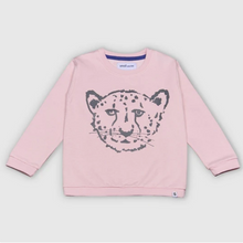 Load image into Gallery viewer, Cheetah Pink Sweatshirt