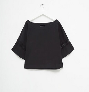 Black cotton Top