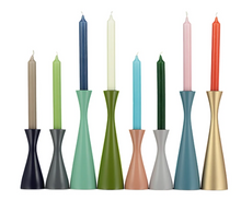 Load image into Gallery viewer, Tall Candleholder - Opaline Green