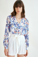 Load image into Gallery viewer, Palm Trees Lola Blouse