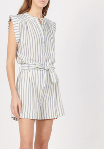 Cotton Stripe Bob Short