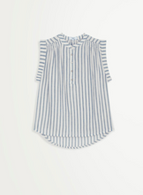 Load image into Gallery viewer, Cotton Stripe Sleeveless Laman Top