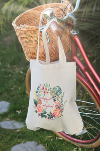 Shop Local Linen Shopping Bag