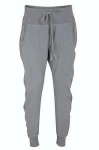Cotton Joggers - Med Grey