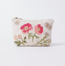 Load image into Gallery viewer, British Blooms Natural Make up bag