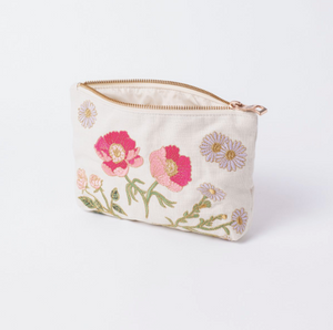 British Blooms Natural Travel pouch