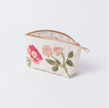 Load image into Gallery viewer, British Blooms Natural Coin Purse