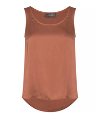 Load image into Gallery viewer, Astrid Silk Tank Top - Autumn Leaf