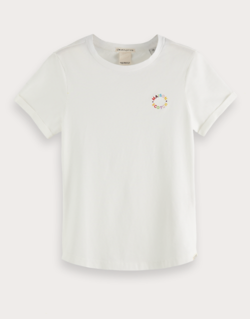 Embroidered Maison Regular Fit T-Shirt