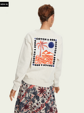 Load image into Gallery viewer, Long sleeve sustainable cotton artwork sweatshirt
