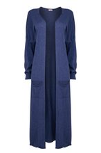 Load image into Gallery viewer, Long Sparkle Cardi - One Size - Denim