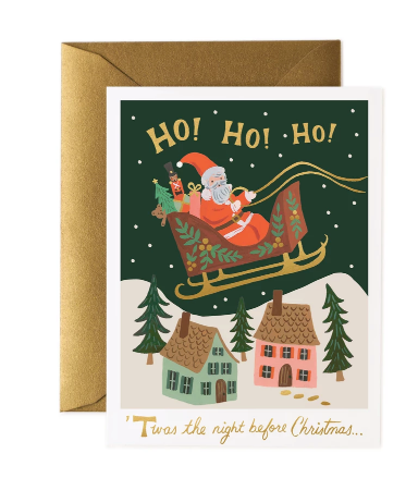 CHRISTMAS DELIVERY BOX Christmas Cards Pack of 8