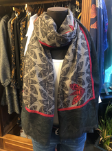 Load image into Gallery viewer, Stella Alexander Limited Edition Wool & Silk Moth Scarf
