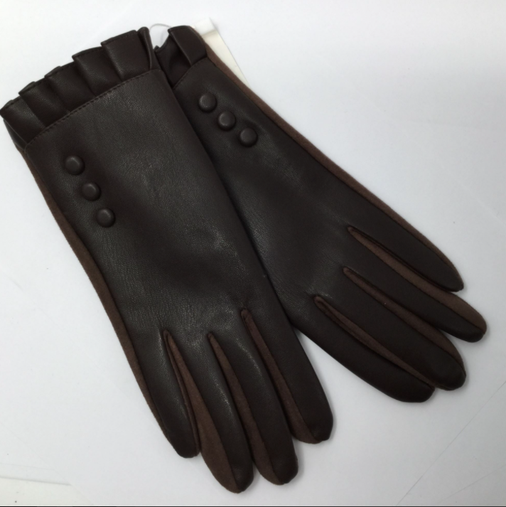 Button & Frill Glove