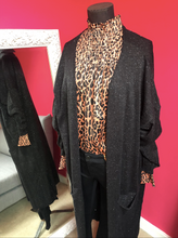 Load image into Gallery viewer, Leopard Print Chiffon Blouse