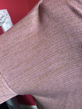 Load image into Gallery viewer, Lurex V Neck Sweater Pink