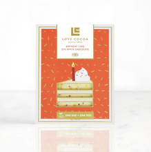 Load image into Gallery viewer, Birthday Cake White Chocolate Bar