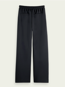 Navy Soft Wide Leg Sweatpants