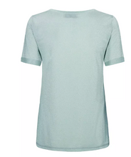 Load image into Gallery viewer, Casio V-neck Tee SS - Mint Haze
