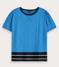 Load image into Gallery viewer, Contrast Hem T-Shirt