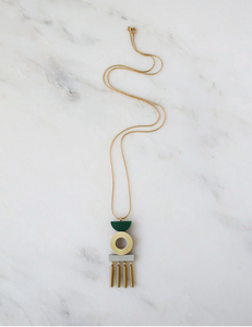 Memento Necklace - Green