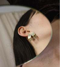 Load image into Gallery viewer, Alana Earrings in Brass