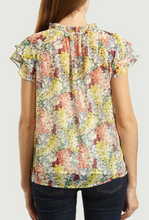 Load image into Gallery viewer, Floral Pastel s/s Luca Lurex Blouse