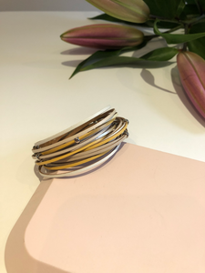 wrap around bracelet - lemon