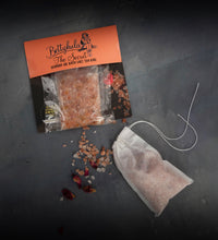 Load image into Gallery viewer, The Secret Wonder Oil Bath Salts Tea Bag
