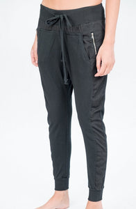 Cotton Joggers - Dark Grey