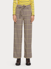 Load image into Gallery viewer, Wide leg high rise trouser