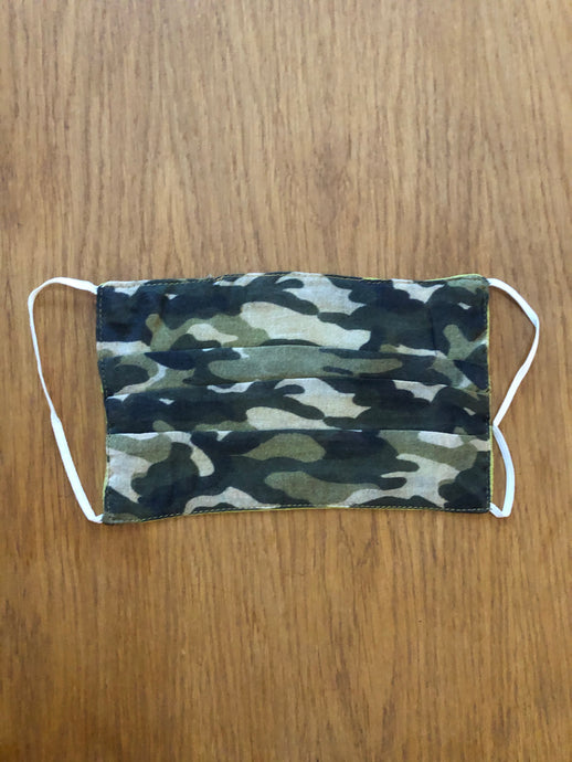 Unisex Army Camouflage Face Covering