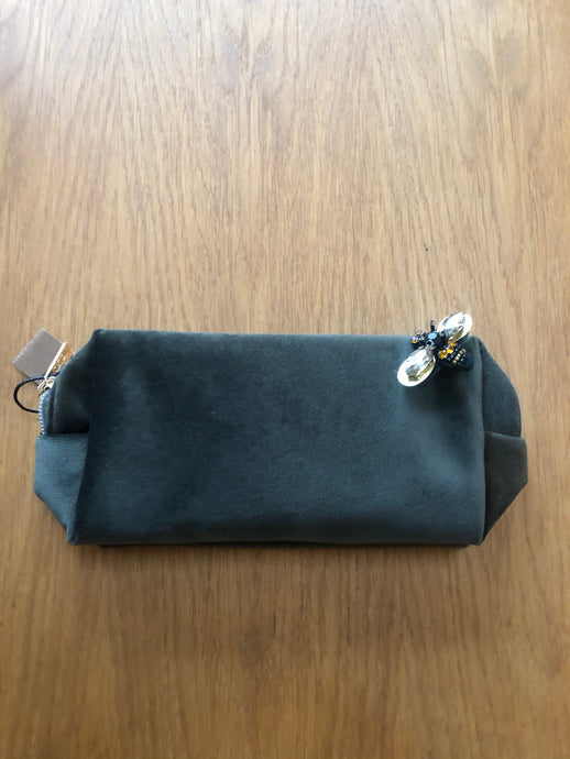 Military Green make-up bag