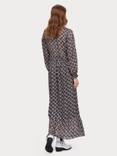 Load image into Gallery viewer, Sheer Feminine Maxi Dress