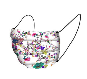 Cotton Face Mask Covering - Summer Flowers