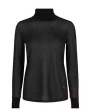 Load image into Gallery viewer, Casio Roll neck - sheer black