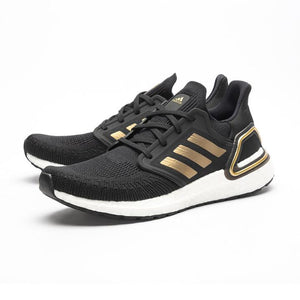 "Tênis Adidas UltraBoost 20 ""Gold Metallic"""